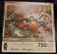 1000 Images About Puzzles On Pinterest Thomas Kinkade