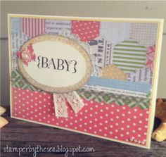 Sweet Baby Card by ChillOutAndStamp - Cards and Paper Crafts at Splitcoaststampers