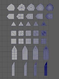 How The F* Do I Model This? - Reply for help with specific shapes - (Post attempt before asking) - Page 142 — polycount Blender 3d, Blender Models, Maya Modeling, Modeling Tips, Zbrush, 3d Design, Game Design, Conception 3d, 3d Computer Graphics