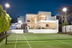 Modern design tennis court | 11 Sussex Street, Brighton Brighton, Modern Design, Tennis, Mansions, Street, House Styles, Home, Manor Houses, Contemporary Design