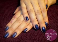 Princess Tiara, Izzy Wizzy Let's Get Busy, and Caution - Gelish Manicure