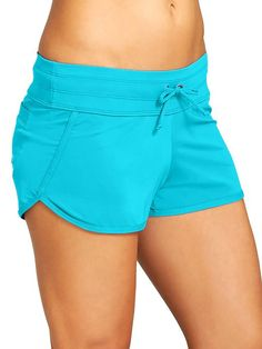 Kata Swim Short - The totally versatile swim-fabric short thats ready to run to the beach, surf, bust out some burpees, then run back home.