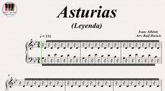 Asturias (Leyenda) - Isaac Albéniz, Piano