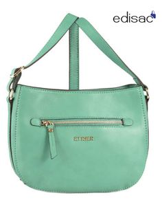 Cross body tas 'Soft' - muntgroen
