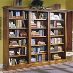 Pompei Bookcase Wall - traditional - bookcases cabinets and computer armoires - Hayneedle