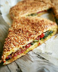 This pie is my favorite pie. Delicious Cake Recipes, Yummy Cakes, Snack Recipes, Cooking Recipes, Good Food, Yummy Food, Turkish Recipes, Snacks, Food And Drink