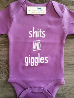 Shits & Giggles Baby, Boy, Girl, Unisex, Gender Neutral, Infant, Toddl – Urban Baby Co.
