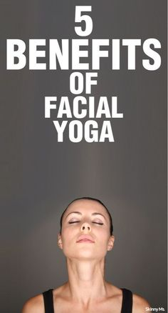 Did you know facial yoga can actually help with anti-aging? Here are two poses to try out to help say goodbye to crow's feet and stick to crow's pose! These are the 5 Benefits of Facial Yoga #yoga #antiaging