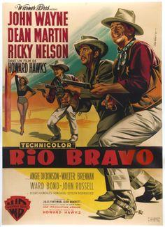 Rio Bravo (1959) - French Grande (Jean Mascii)