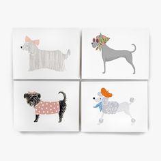 Girlie Dog - Assorted Card Set