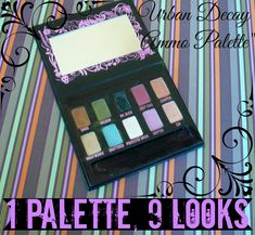 Urban Decay Ammo: 1 Palette, 9 Looks