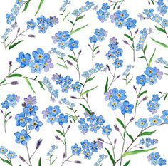 forget me not pattern More