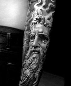 Grek Gods tattoos (33) Zeus