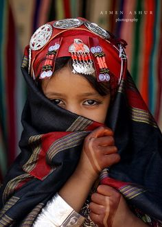 Berber Girl. Libya. people photography, world people, faces