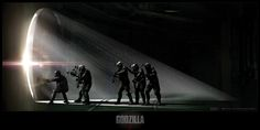 Godzilla Concept Art by Brian Cunningham Brian Cunningham, Concept Art World, Unreal Engine, Planet Of The Apes, Lens Flare, Modern Warfare, Jurassic World, Cinema 4d, Feature Film