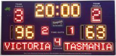 Find out the best basketball scoreboard in Australia which provides various type of scoreboard with variety in design by Blue Vane Scoreboard. Basketball Scoreboard, Sport Outdoor, Netball, Outdoor Products, Screens, Australia, Range, Indoor, Led