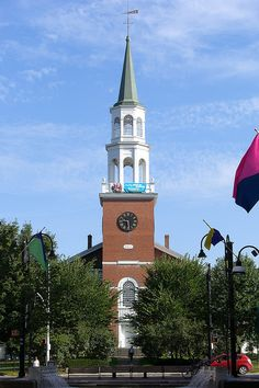 top of Church Street, Burlington, Vermont