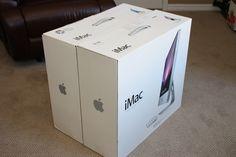 Macminicolo - Mac mini hosting - iMac 2009 First Look Apple Packaging, Mac Mini, Container, Macbook, Design, Design Comics, Macbooks