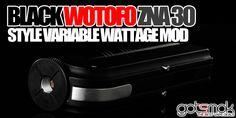 Black Wotofo ZNA 30 Style Mod $58.00 | GOTSMOK.COM