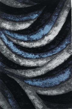 Buy the Chandra Rugs 5 x 7 Direct. Shop for the Chandra Rugs 5 x 7 Navy, Blue, and Grey Polyester Shag Area Rug Hand Woven in India with Cotton Backing and save. Contemporary Rugs, Modern Rugs, Wholesale Carpet, Grey Shag Rug, Flokati Rugs, Shag Rugs, Navy Rug, Blue Abstract, Cool Rugs