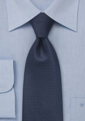 Krawatte strukturiert marineblau günstig kaufen