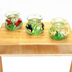 7x 1:12 miniature resin landscape flower pot dollhouse garden for kids toy  *BB