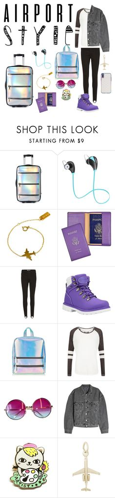 """""""Another Trip"""" by goldnpurplegun ❤ liked on Polyvore featuring Current Mood, VANINA, Royce Leather, Vero Moda, Lugz, Skinnydip, Superdry, Janis, Yeezy by Kanye West and Rembrandt Charms"""