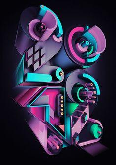 2012 by Rik Oostenbroek, via Behance