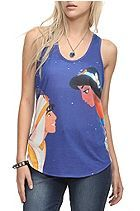 Disney Aladdin Jasmine Girls Tank Top Plus Size 3XL Sku 343041