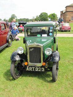 Austin 7 at Burton Constable Hall classic car show