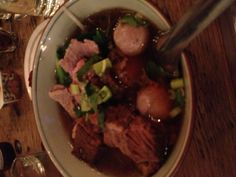 Beef noodle soup - Pure Thai Cookhouse, NYC