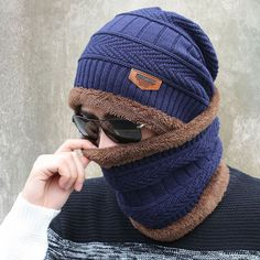 2016 new knitted hat fashion Beanies Knit Men's Winter Hat Caps Skullies Bonnet  For Men Women Beanie Casual Warm Baggy Bouncy #>=#>=#>=#>=#> Click on the pin to check out discount price, color, size, shipping, etc. Save and like it!