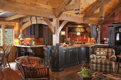 Rich wood cave interior - View all the entrants. WoodworkingNetwork.com
