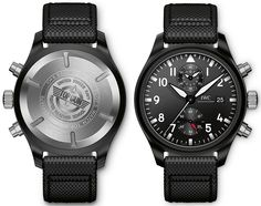 IWC Big Pilot's Watch Top Gun & IWC Big Pilot's Watch Chronograph Top Gun…