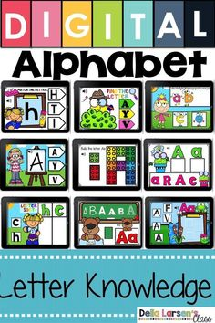 Fun ideas for teaching the alphabet in kindergarten. Make sure your preschool students have the read Kindergarten Readiness, Kindergarten Lesson Plans, Kindergarten Classroom, Kindergarten Preparation, Literacy Stations, Literacy Skills, Literacy Centers, Learning Stations, Teaching The Alphabet