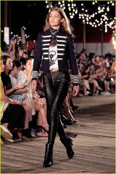 Gigi Hadid Debuts Her 'TommyxGigi' Collection at NYFW