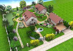 Garden Design Plans, Landscape Design Plans, Small Garden Design, Patio Design, Home Design Plans, Farm Plans, Backyard Plan, Permaculture Design, Garden Entrance