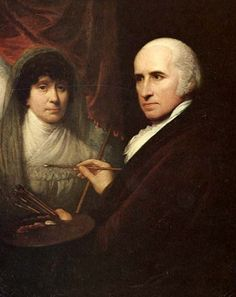 Self Portrait While Painting His Wife, Betsy (1806) Benjamin West (1738-1820) Born in America, Benjamin moved to London where he died in 1820