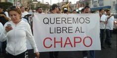 Marchan para que #ElChapoGuzman no sea extraditado a EU