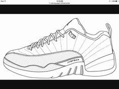27 Great Photo Of Nike Coloring Pages Albanysinsanity Com Air Jordans Jordans Shoes Drawing
