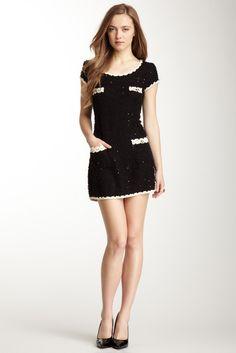 Gracia, Boucle Short Sleeve Dress