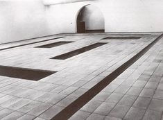 Indoor landscape - 8 cortes, 1967 by Carl Andre