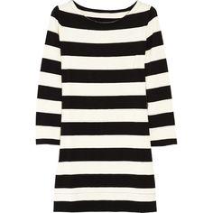 cute cotton navy & white stripe dress!