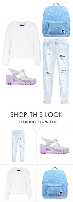 """""""Outfit Idea by Polyvore Remix"""" by polyvore-remix ❤ liked on Polyvore featuring One Teaspoon, JuJu, Calvin Klein Collection and Forever 21"""