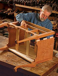 attaching queen anne table legs to apron - Google Search