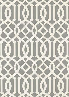 Imperial Trellis Silver Wallpaper SCHWA5003362