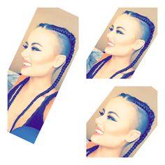 Pixie boxer braids
