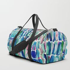 Sweet SugarCane Duffle Bag by ANoelleJay   Society6   Travel In Style   Gift art for the holidays by @anoellejay @society6