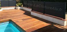 Brise Vue Piscine Gris Anthracite Fence Design, Fences, Deck, Outdoor Decor, Photos, Home Decor, Carport Garage, Grey, Shutter