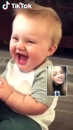 Do you love baby laughs? Check out the amazing new feature ONLY on … Do you love baby laughs? Check out the amazing new feature ONLY on TikTok. Watch more awesome short. Funny Baby Faces, Funny Baby Gif, Cute Funny Babies, Funny Baby Pictures, Fun Funny, Funny Videos For Kids, Cute Baby Videos, Funny Short Videos, Funny Video Clips